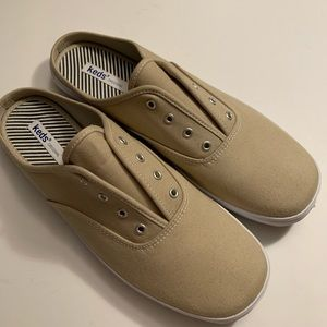Keds original laceless slip-on tennis shoes NWOT
